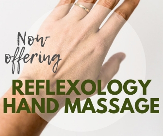 Now Offering Reflexology Had Massage